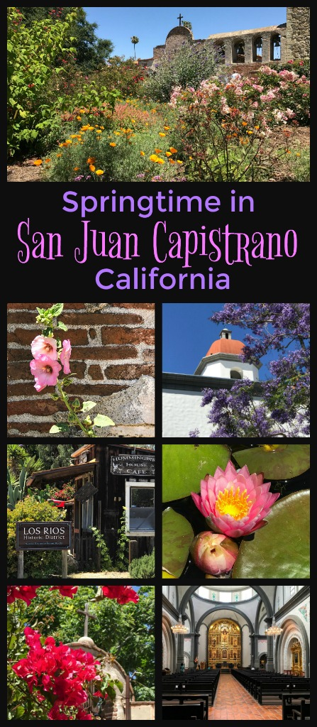 A wonderful California location to explore any time of the year for its lesson in #California #history, the mission will blow you away with its rainbows of color set against the mission's adobe walls in the spring. Read on for more about #thingstodoinCalifornia #thingstodoinSanjuanCapistrano