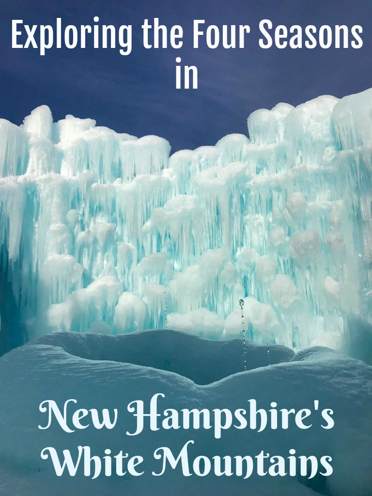 Read on for things to do in Lincoln, New Hampshire in all four seasons/Things to do in Lincoln, New Hampshire in WInter/ Things to do in the White Mountains of New Hampshire in winter #TBIN #WinteractivitiesinNewHampshire #winterinLincolnNH