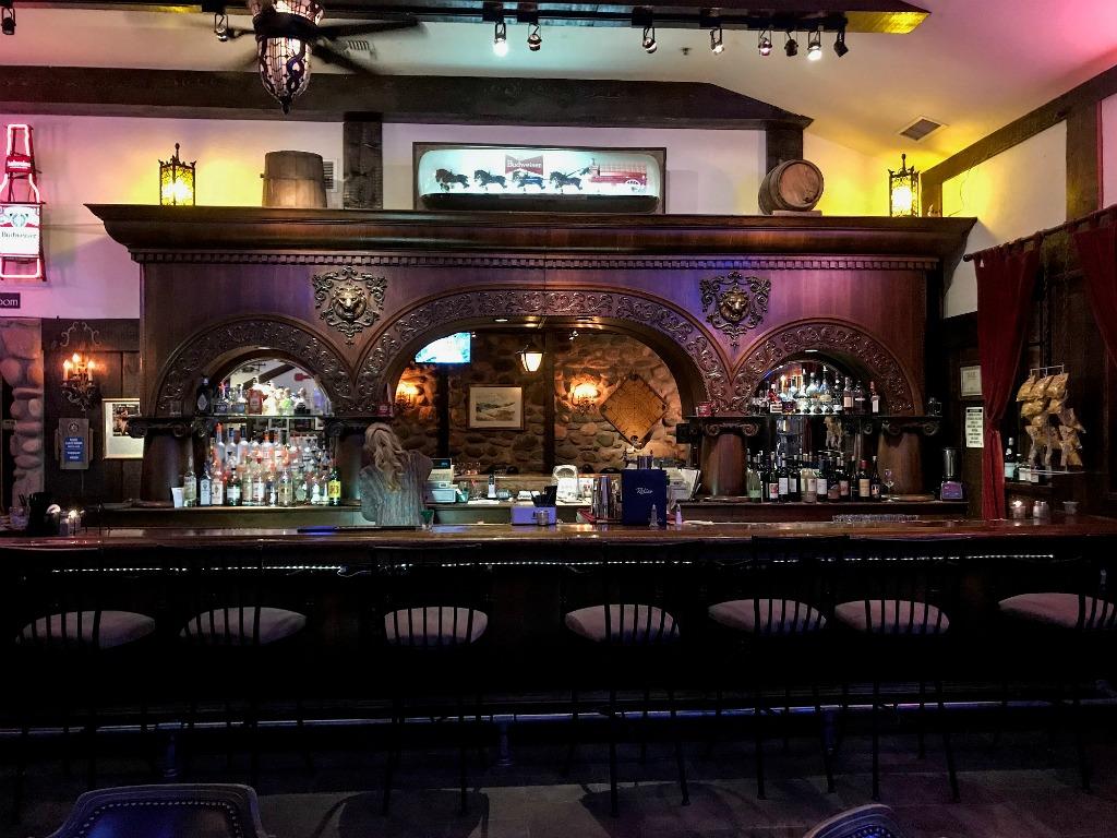 Ghost hunting bar in Sedona, Arizona.