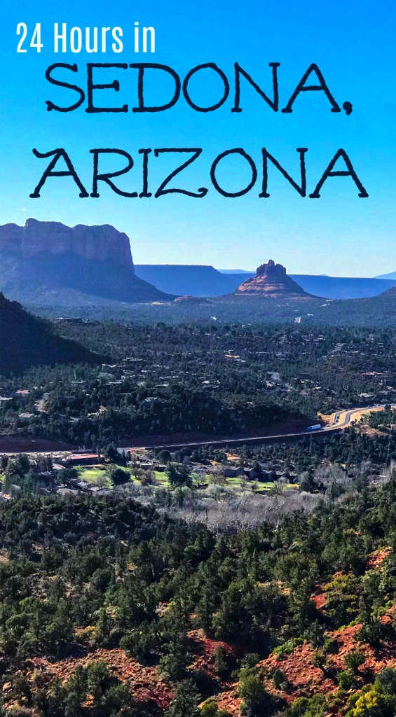 Things to do in Sedona, Arizona when you are short on time including easy hikes that will get you an overview of the area. Also, eat in a haunted restaurant! #Arizona #USRoadtrip #Sedona #hiking