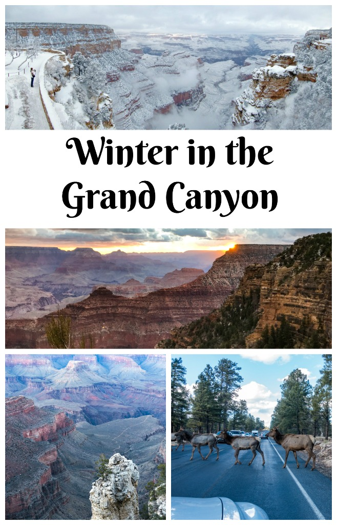 Read on to see why winter is an ideal time to visit the Grand Canyon. Where to stay at the Grand Canyon. Best place to watch the sunrise at the south rim of the Grand Canyon. #GrandCanyon #Arizona #TBIN #USTravel