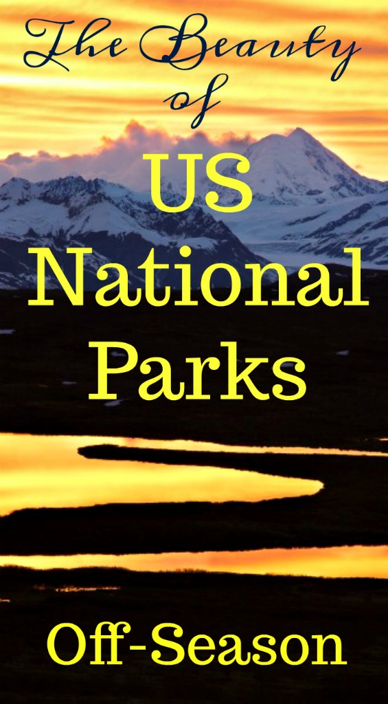 Less crowds, cheaper accommodations make the shoulder seasons the most perfect time to visit US National Parks. Read on for specifics. #TraveltheUS #besttimetotourUSNationalParks