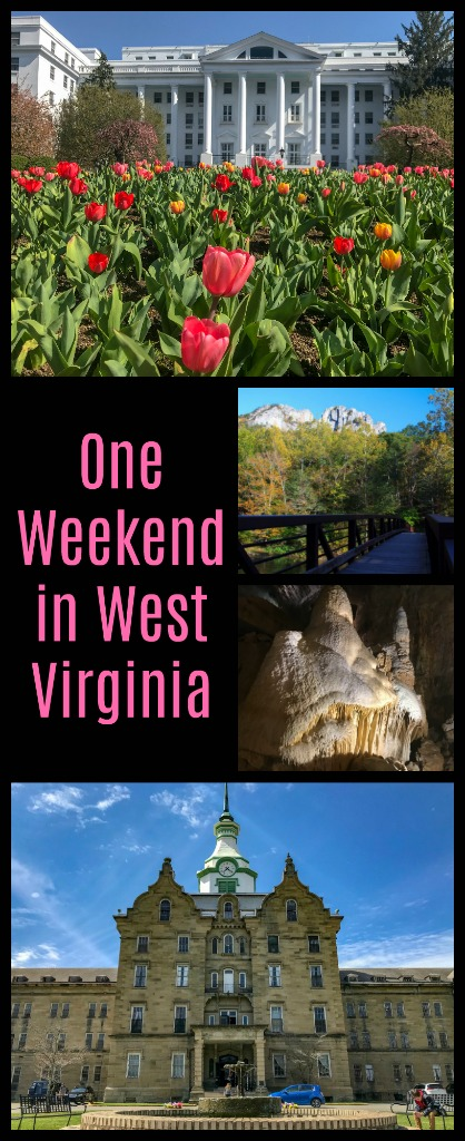 Join me as I road trip West Virginia stopping in the adorable Greenbrier Valley, exploring caves, coal mines and asylums. #greenbrierwv #WestVirginia #usroadtrip #TBIN