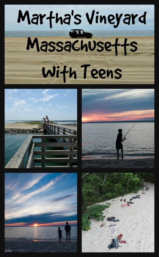 Get out and spend some quality time with your kids on #MarthasVineyard #Massachusetts #NewEngland #teens #familytime