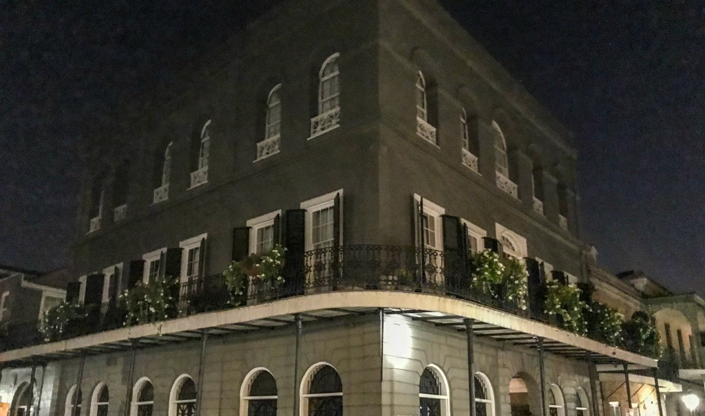 nest ghost tours in New Orleans