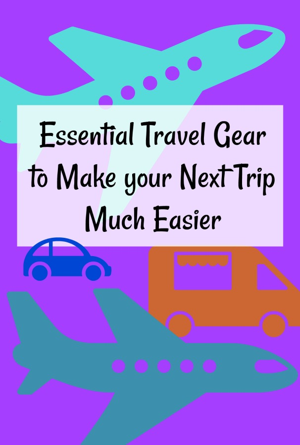 Are looking for items to make your travelling life easier or a gift idea for the traveler in your life? This list of my favorite travel items will help. #travelgiftideas #giftideas #travel