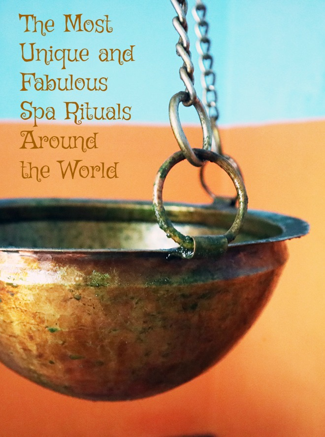 Read on for the most unique, bizzare and relaxing spa rituals around the world. Photo by Michele at Full Time Traveler #travel #culturalimmersion #bestspas