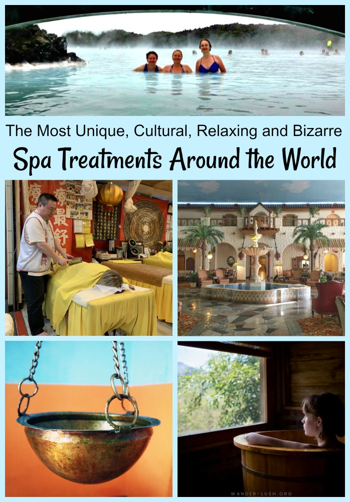 Spa services can provide relaxation or a unique glimpse into a culture. Explore the best and most unique spa rituals around the world. #spas #spabreaks #bestspas