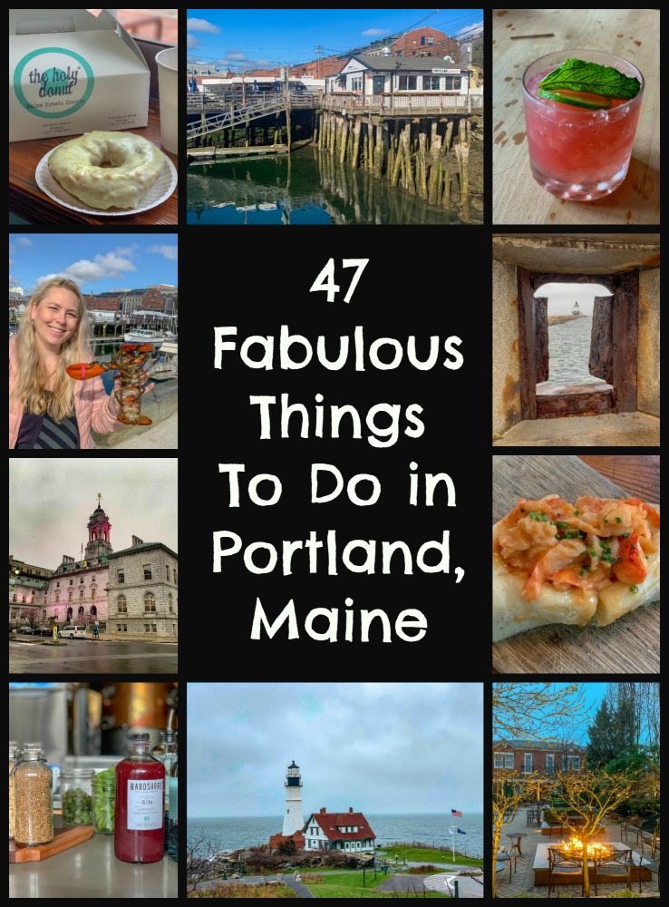 Read on for the best things to do in Portland, Maine- history, outdoor activities, excellent food and drink. This gateway to Maine is the perfect US city to spend a weekend with girls or family. #VisitMaine #wits19 #VisitPortlandME #NewEnglandtravel