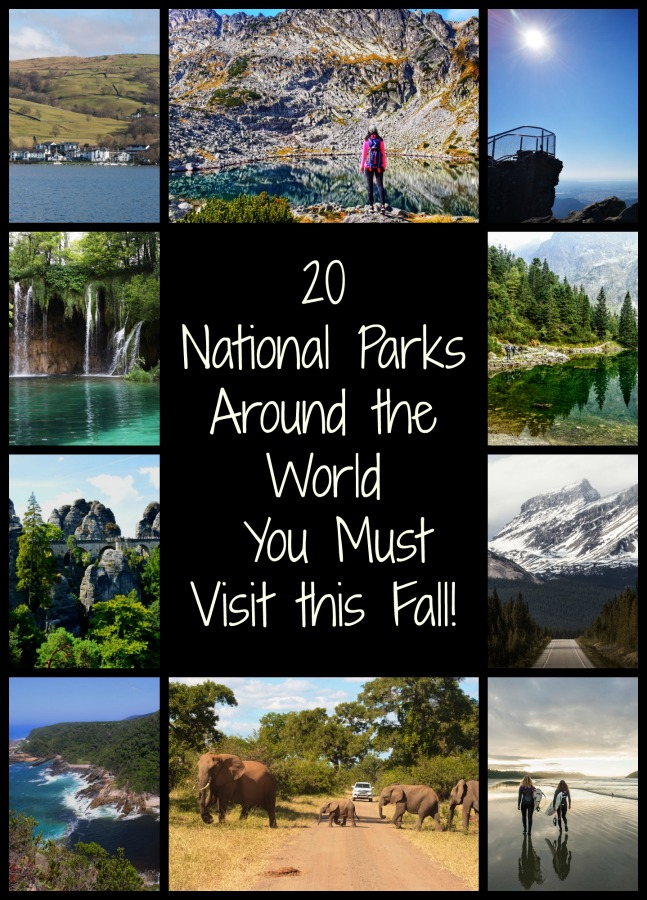 Looking for a great place to get away from it all this fall? Read on for the best National Park for your fall trip! #falltrips #autumn #falltravels