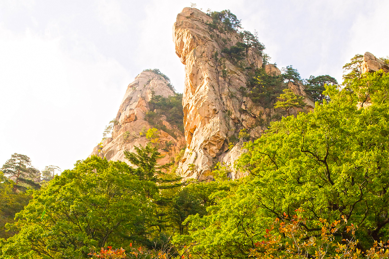 National Park in South Korea to visit in October