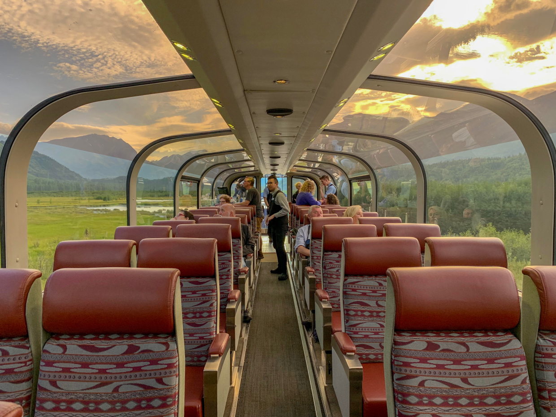 Best Train Trip in Alaska