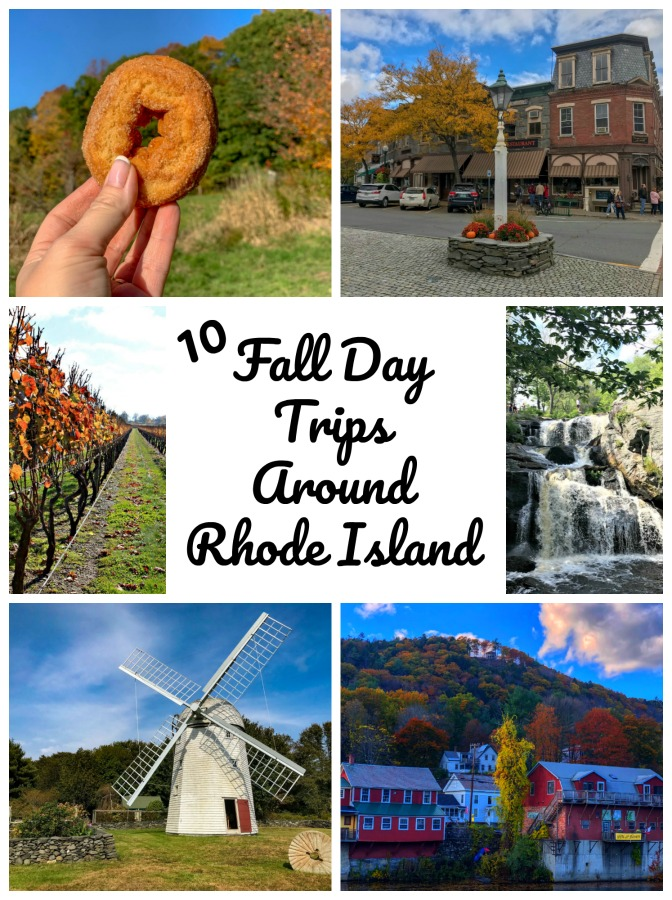 Using Rhode Island as a base, here are 10 easy day trips you can do to experience New England in all of its fall glory! #falltrips #NewEnglanddaytrips #NewEngland #RhodeIsland #TBIN #themidlifeperspective