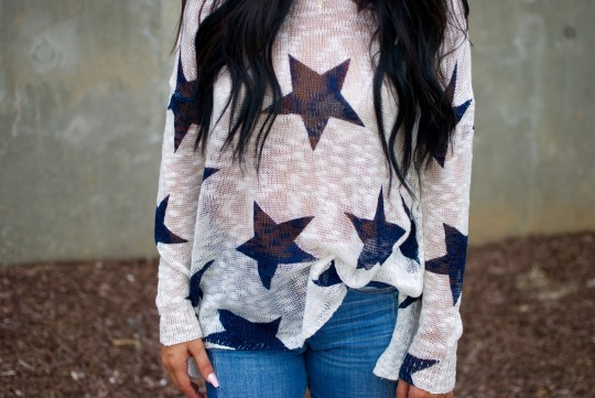 Show Me Your Mumu Star Sweater