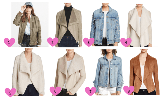 Favorite Jackets for Fall