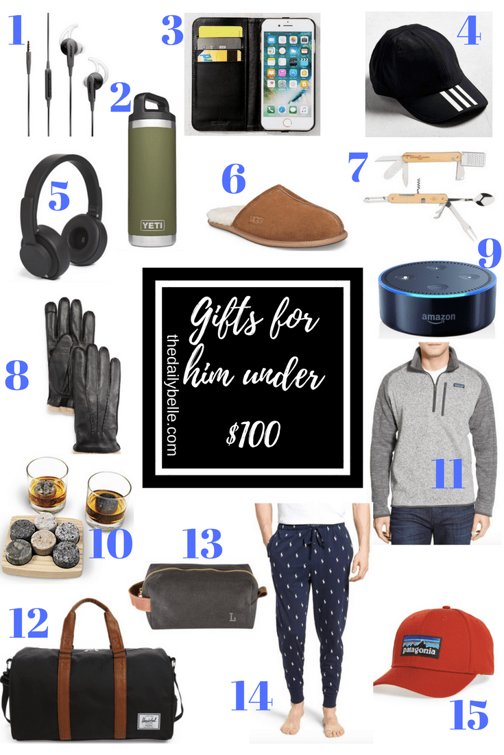 Gifts for himunder $100