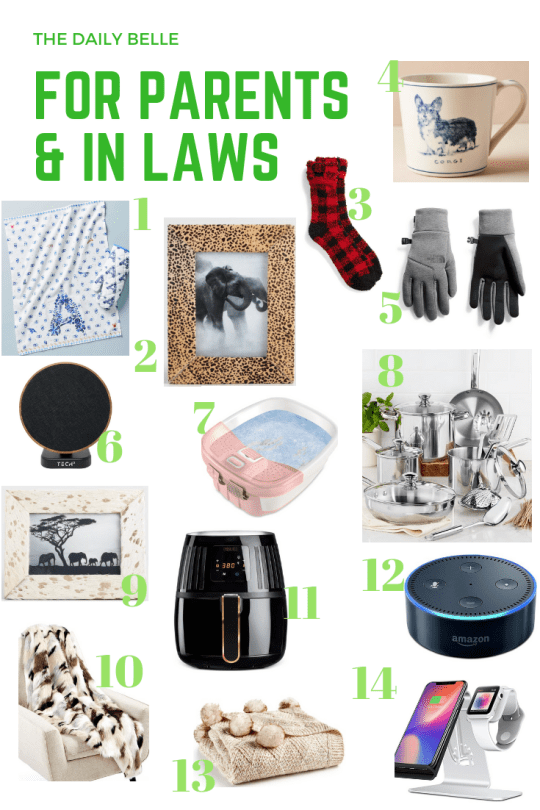 Gift Guide: Parents and In Laws