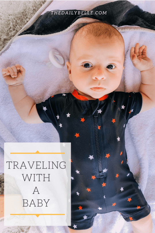 Traveling with a Baby (Beach Edition)