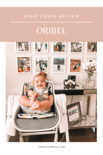 Oribel High Chair Review