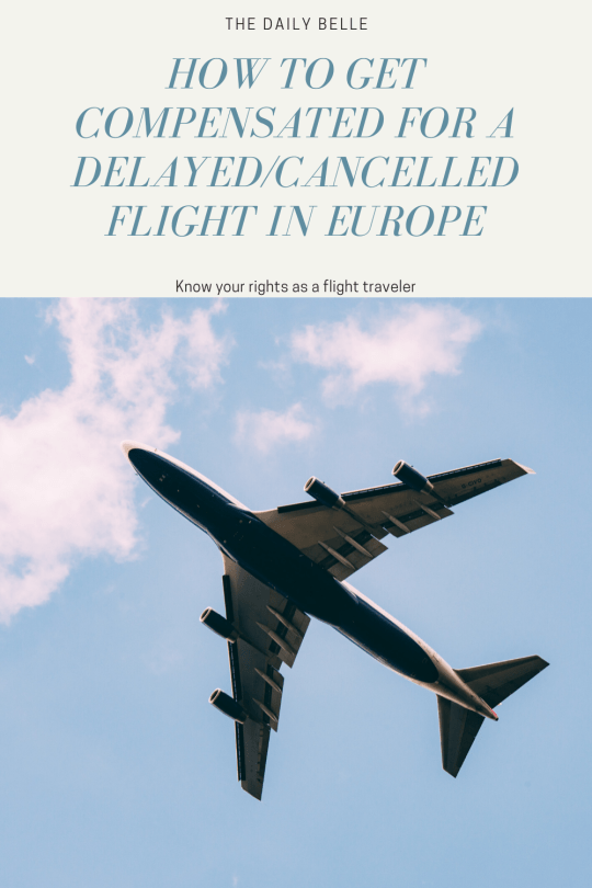 How to get Compensated for a Delayed or Cancelled European Flight