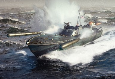 Naval Starter Pack John F. Kennedy's PT-109