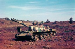 Abandoned T-55