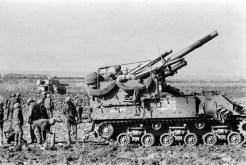 M-50 artillery on the Golan