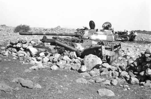 T-55 with mine-roller