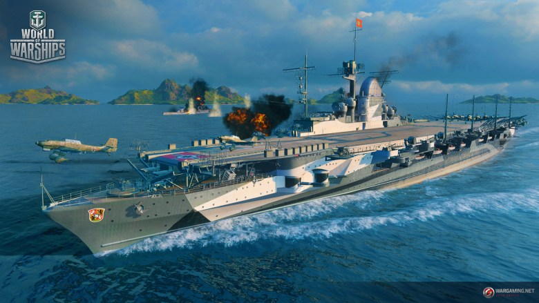 World of Warships: Graf Zeppelin Situation Update