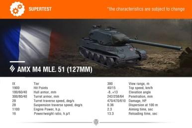 AMX M4 MLE 51 127MM