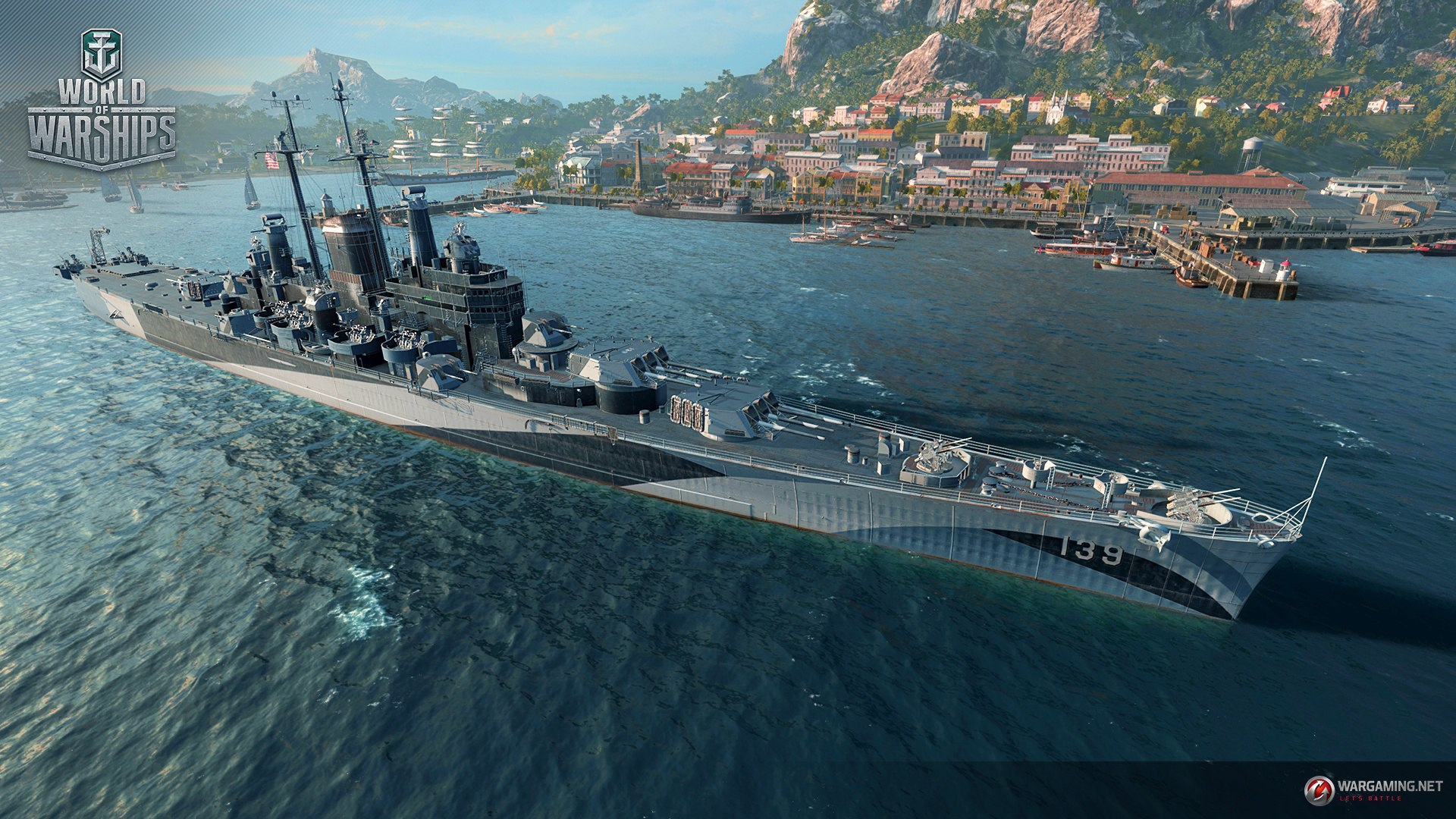 World Of Warships Supertest  Us Cruiser Uss Salem