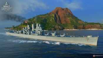 World of Warships Supertest: US Cruiser Worcester
