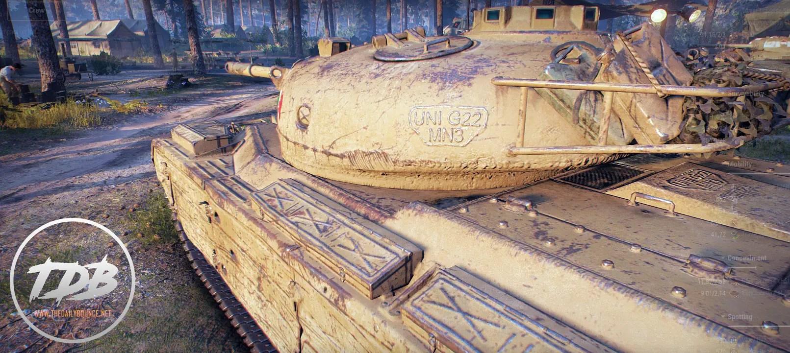 hit points bar mod world of tanks