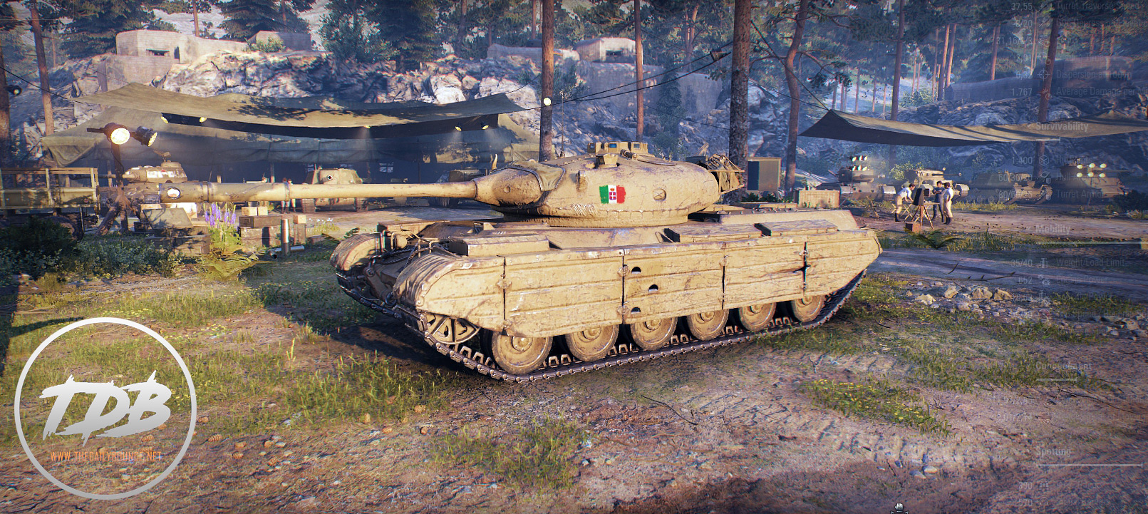 World Of Tanks Progetto M35 Mod 46 Italian Premium Medium