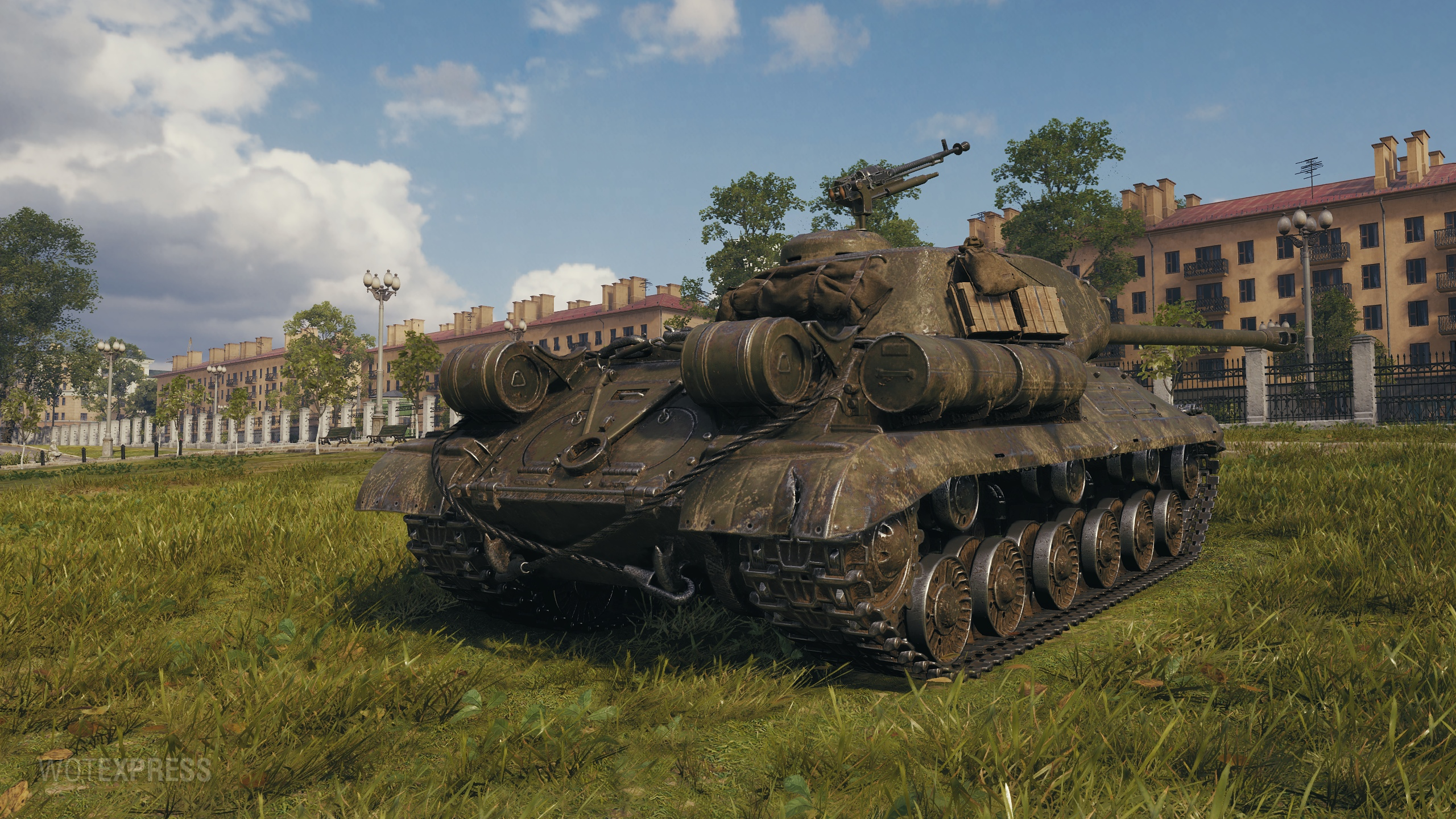 World of Tanks Supertest: Soviet Heavy Tank IS-2M