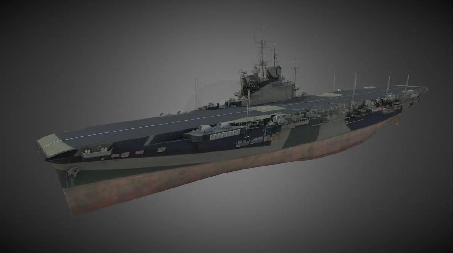 World of Warships Supertest: HMS Indomitable