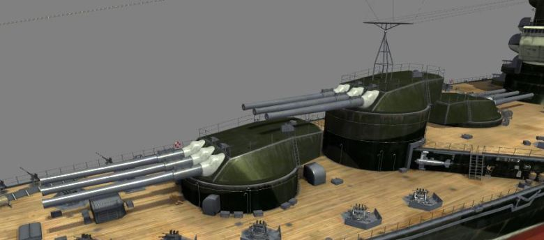 turrets