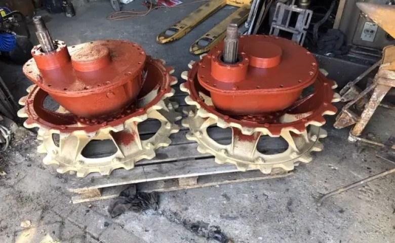 Tank Nashorn Wheels 2