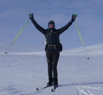 Tania Noakes has become the first British woman to complete the classic Norge På Langs