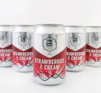 Tyne Bank Brewery have re-released the aptly-named Strawberries and Cream pale ale