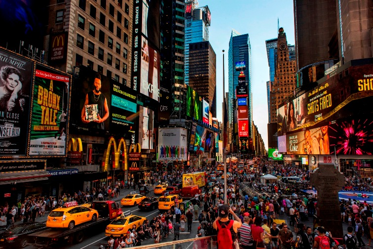 Times Square, Midtown, Manhattan, NYC