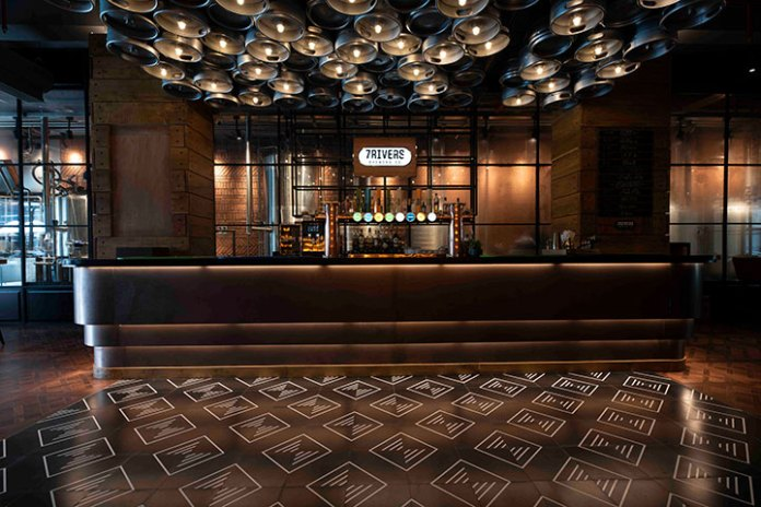 IHCL & AB InBev Launch 7Rivers Brewpub At Taj MG Road, Bengaluru