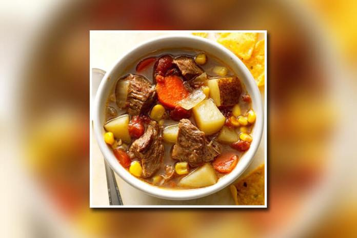 Slow Cooked Mexican Beef Soup