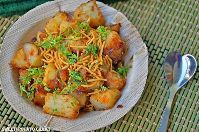 Sweet Potato Chaat Navratri recipes from Thayanithy, Sous Chef, Signature Club Resort