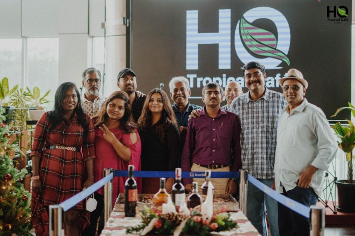 The Daily Brunch Flags Off The Blog Express @ H.Q. Tropical Café, Whitefield.
