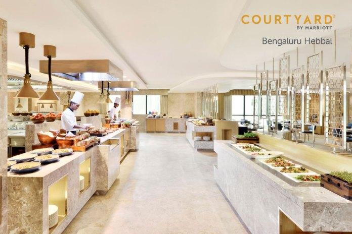 Brunch Like Bengaluru at Courtyard by Marriott Bengaluru Hebbal