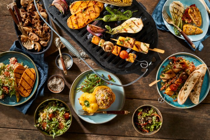 Delectable Vegetarian Dinner Buffet at LUSH