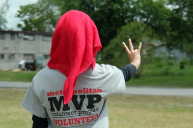 MVP partnered with Agape Development Ministries and the Southeast Houston Transformation Alliance for Keep Houston Beautiful Day. | Mahnoor Samana/The Daily Cougar