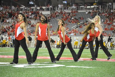 The entire night was filled with strong performances, including the Cougar Dolls' halftime show. | Caitlin Hilton/The Cougar