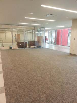 The new UC will feature lounges and study spaces for students to hang out in between classes.   Glissette Santana/The Cougar